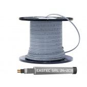 Греющий кабель саморегулирующийся с экраном EASTEC SRL 24-2 CR, 24 вт/м