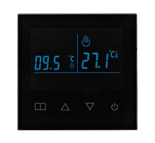 Терморегулятор Е93.716 программируемый черный