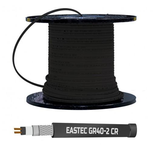 Греющий кабель Eastec с УФ-защитой GR40-2CR