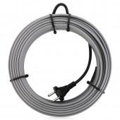 Греющий кабель саморегулирующийся на трубу 7 метров, 16 вт/м, без экрана