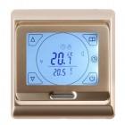Терморегулятор E91.716, сенсорный, цвет золото