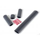 Комплект для соединения и изоляции греющего кабеля
