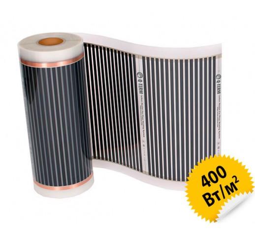 Инфракрасный пленочный теплый пол Q-TERM, 50 см  400 Вт/кв.м.
