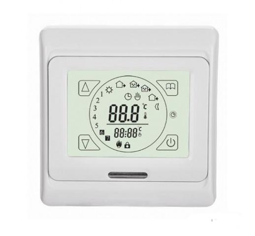Терморегулятор  E91.716, сенсорный, цвет белый