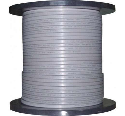 Саморегулирующийся греющий кабель Decker GRX 30-2 CR, УФ защита, экран