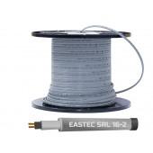 Греющий кабель саморегулирующийся без экрана для водопровода EASTEC SRL 16-2, 16 вт/м