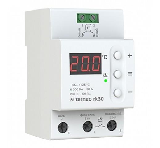 Терморегулятор Terneo RK32, 30А