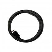 Греющий кабель саморегулирующийся для водопровода 1 метр, 16 вт/м, экран