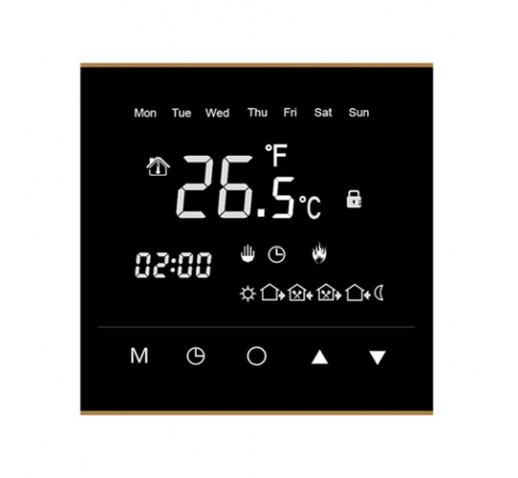 Терморегулятор сенсорный WarmLife чёрный
