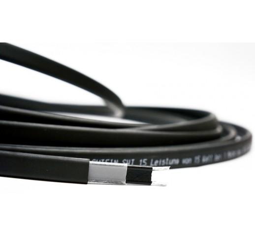 Cаморегулируемый греющий кабель для внешнего обогрева трубы SHTEIN SWT-15 (15 вт)