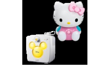 Увлажнители воздуха в детскую Ballu Kids серии Hello Kitty и Disney