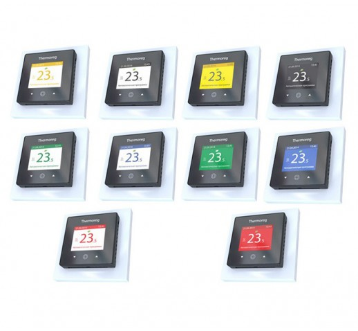 Терморегулятор программируемый Thermoreg TI 970 цветной