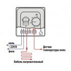 Терморегулятор механический RTC 70