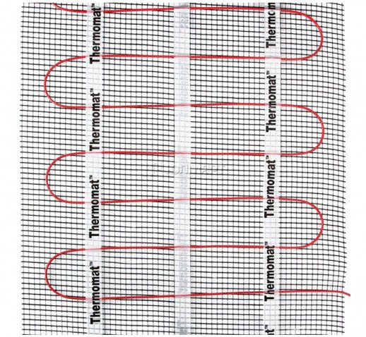 Нагревательный мат Thermomat 130 5 кв.м